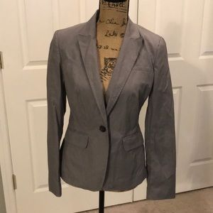 Banana Republic gray pinstripe jacket sz 4